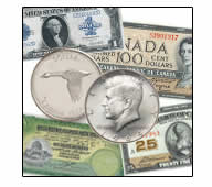 OLD COINS & BANK NOTES