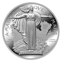 1927 Confederation Medal Re-strike