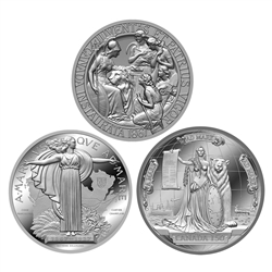 Confederation Medals - 3 Coin Pure Silver Set