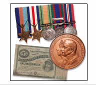 HISTORICAL MEDALS & EXONUMIA