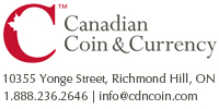 Canadian Coin & Currency Logo